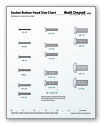 Socket Button Head Size Chart