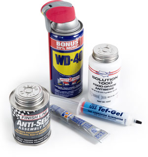 Anti-seize thread lubricants