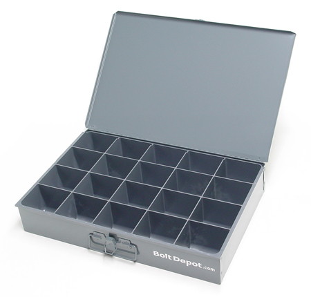 Us Large Metal Trays Screw Assortments Stainless Steel
