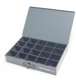 20 compartment large metal tray