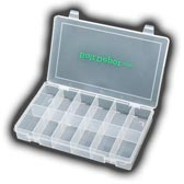 12 Compartment plastic box